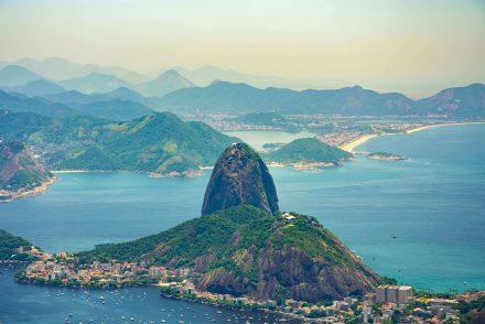 Bairro do Rio de Janeiro visto de cima