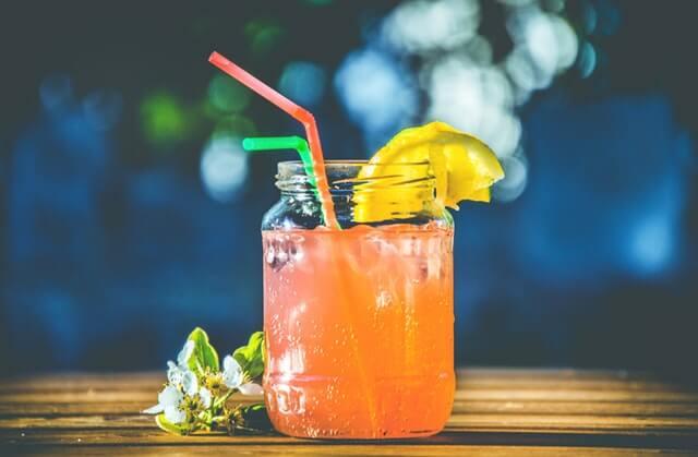 Bebida em bar