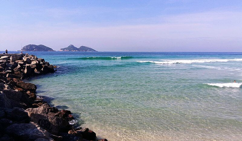 Praia da Barra RJ