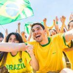 Torcedores da Seleção Brasileira