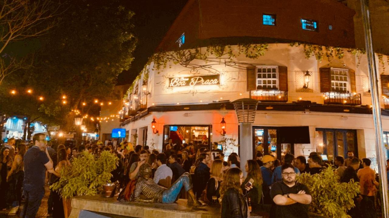 Bar no Leblon