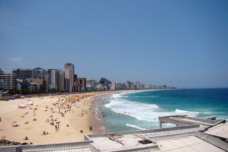 Praia do Leblon RJ