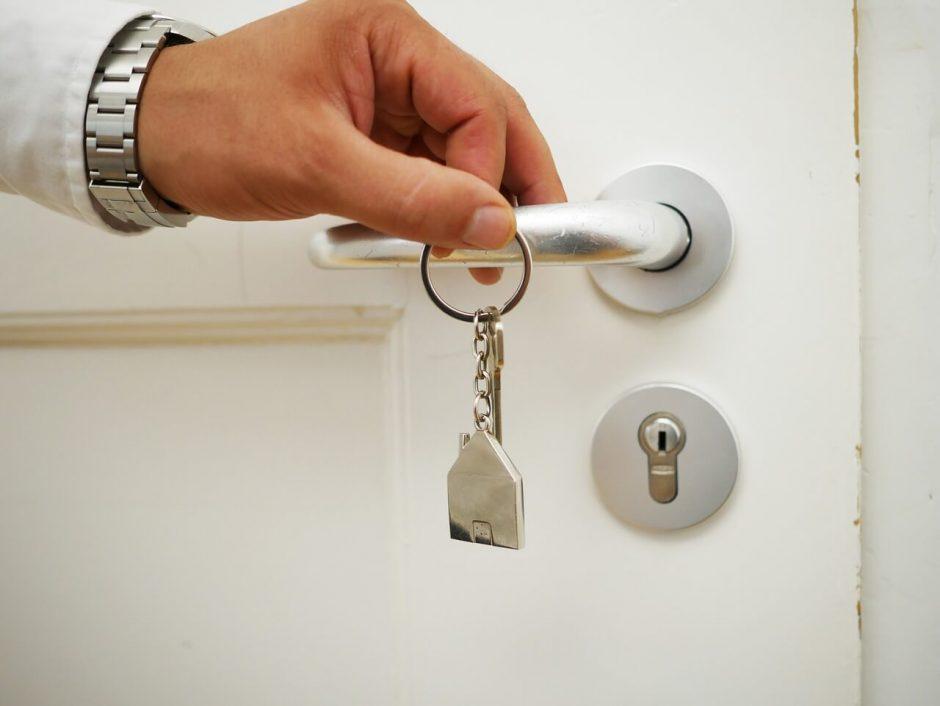 Chaves de apartamento no Leblon