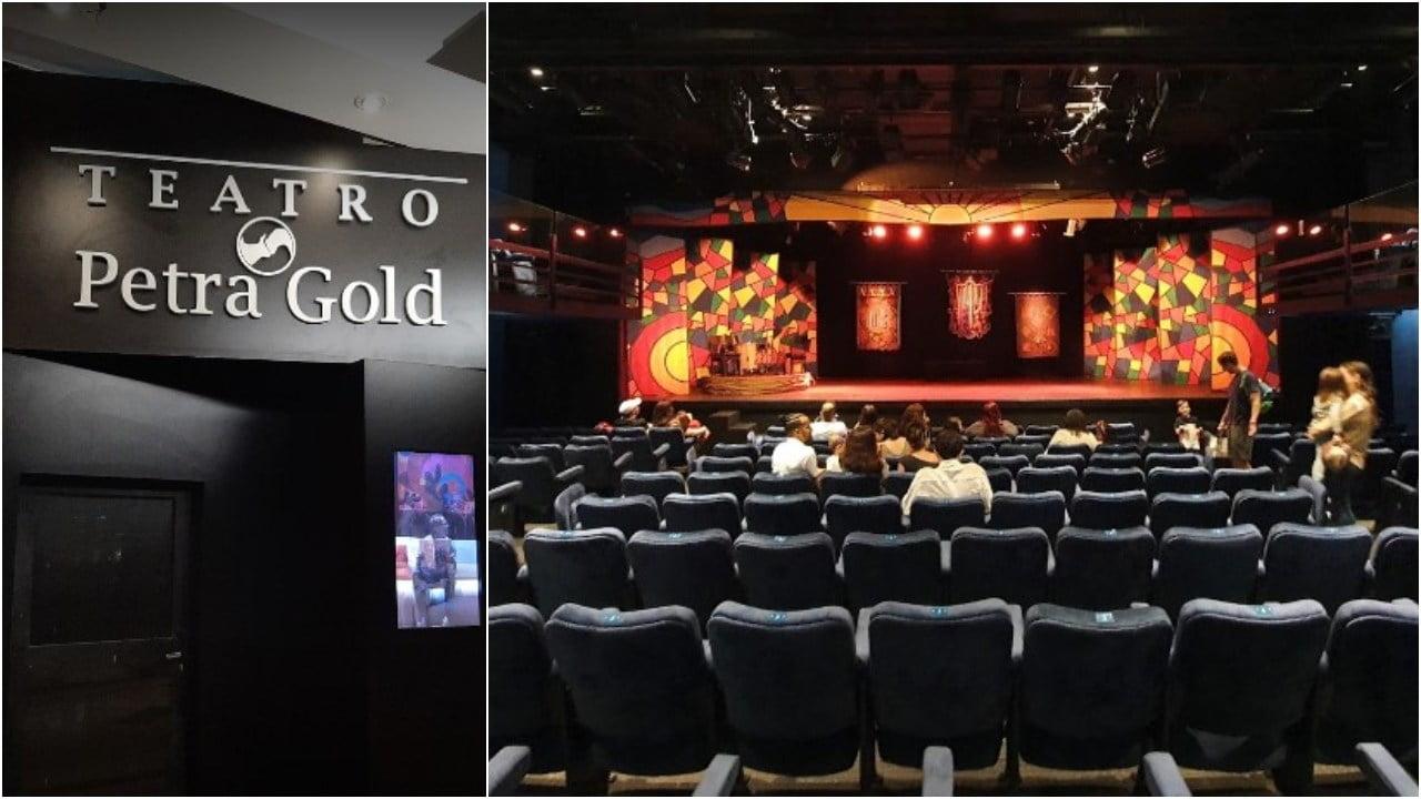 teatro petra gold