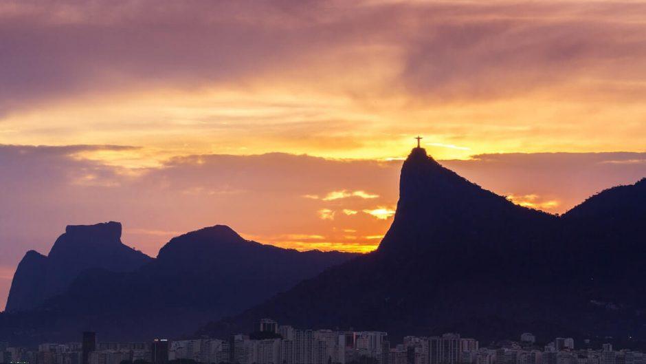 Vista de cima do Rio de Janeiro