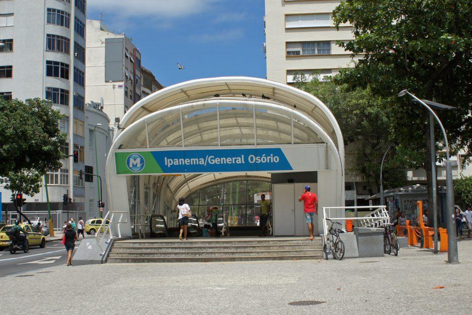 O Metrô Ipanema, hoje, conhecido por General Osório, é muito mais do que uma linha de metrô