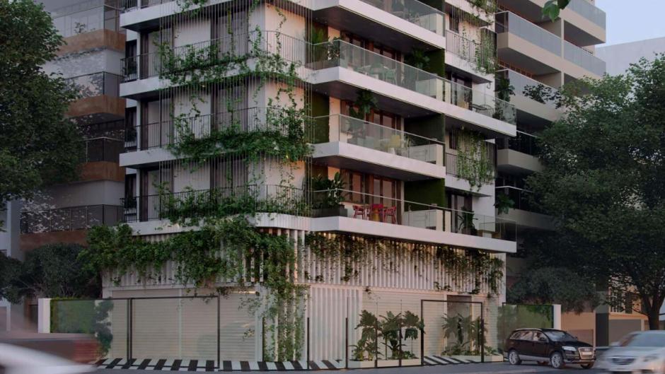 Imagem da fachada do edifícioBarto 144 Mozak