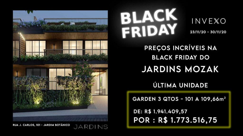Black Friday de imóveis no Jardim Botânico