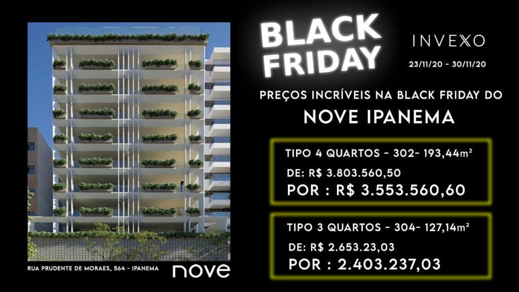 Black Friday de imóveis ipanema