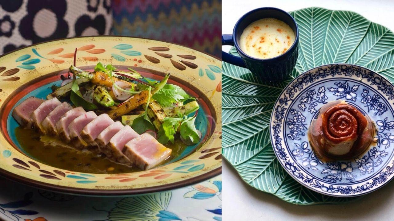 pratos dos restaurantes do Rio Design Leblon