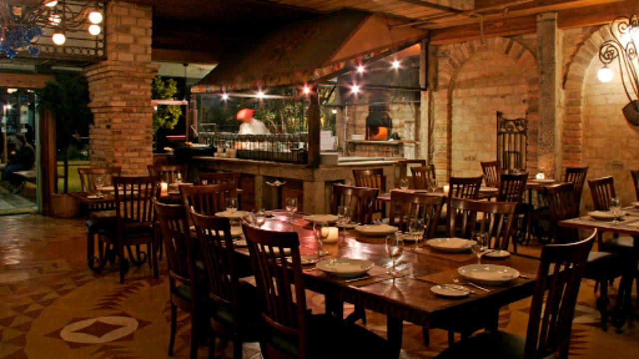 restaurante Fratelli Leblon mesas