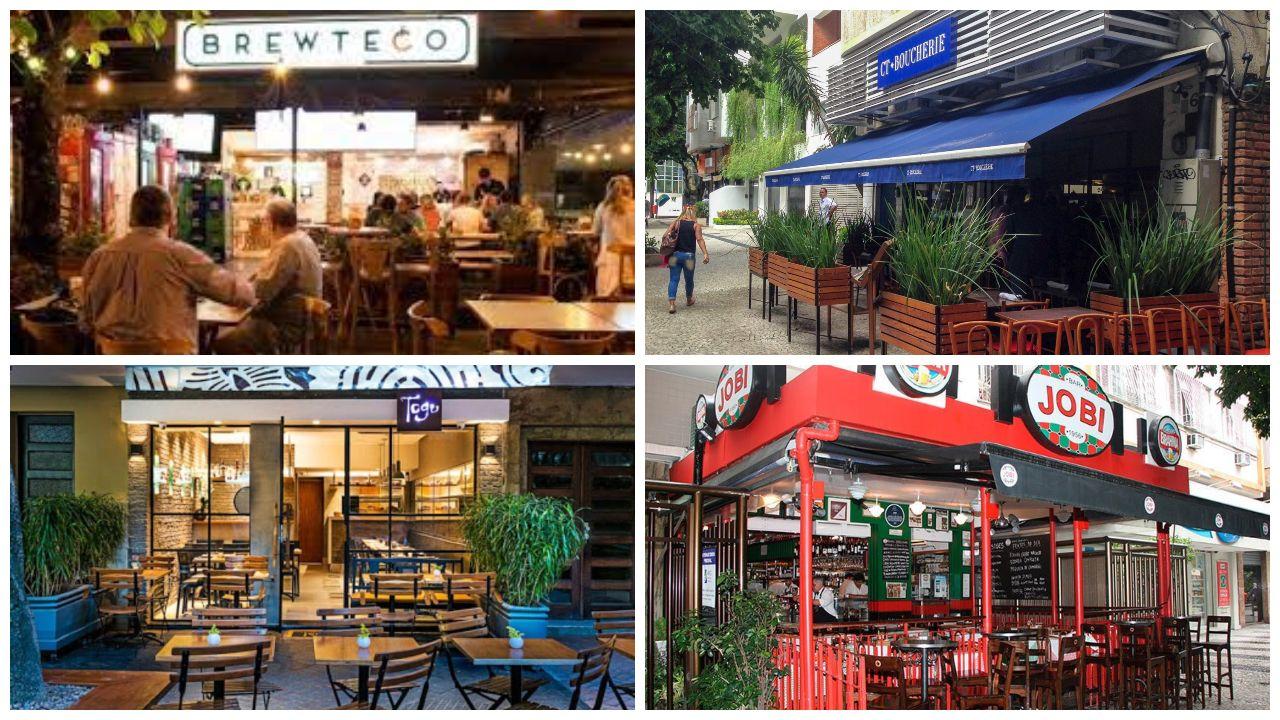 bares e restaurantes no leblon