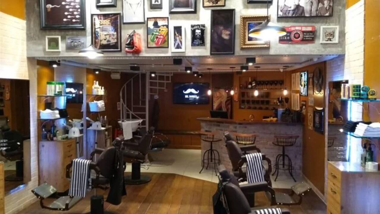 salão do Mr. Barber Barbearia Tattoo e Piercing Ipanema
