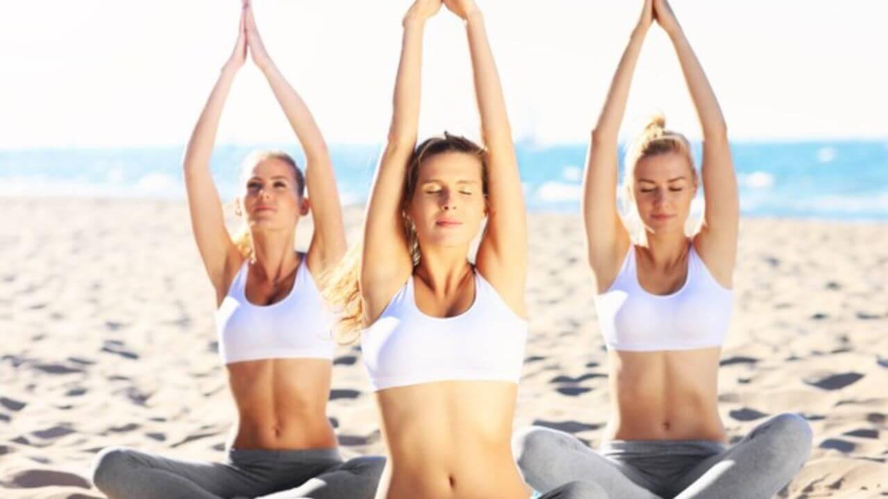 ioga na praia rj