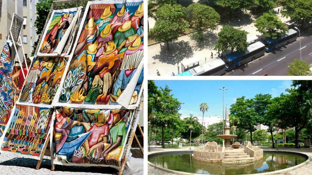 Praça general osório ipanema