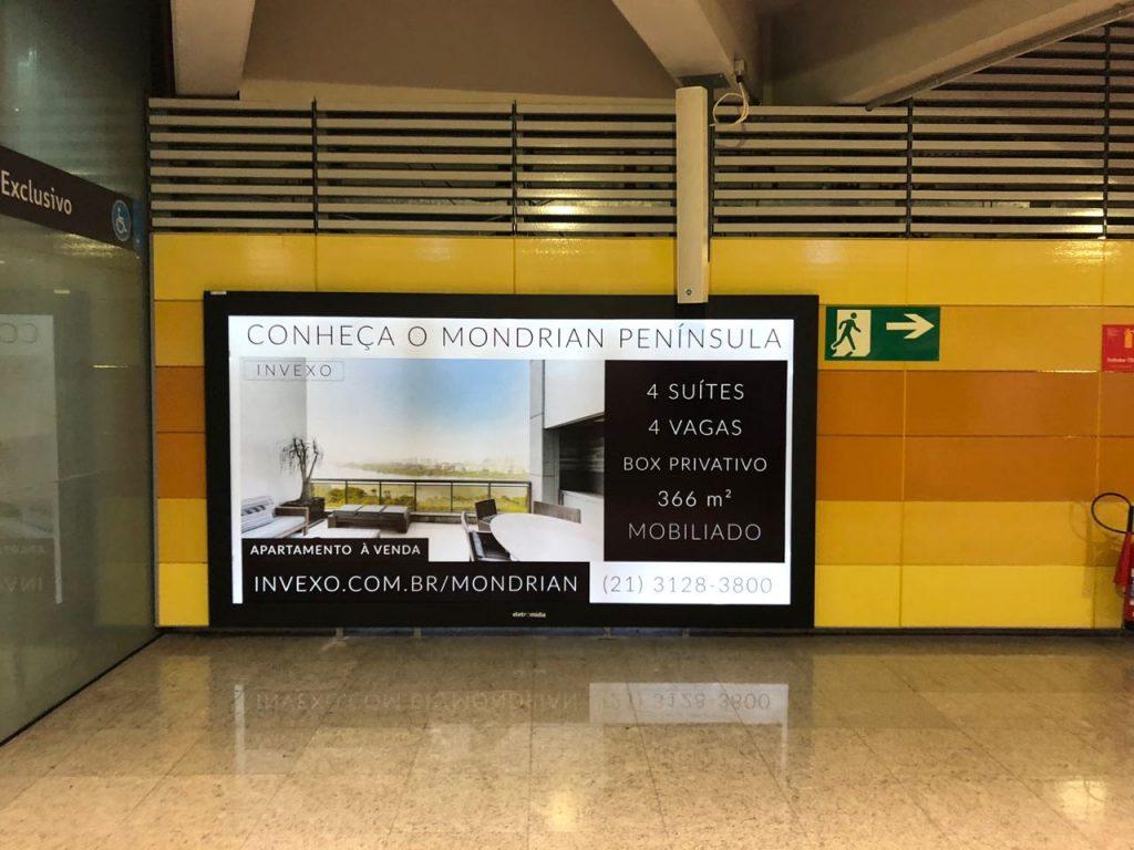Divulgação Metrô - Barra da Tijuca - Estação Jardim Oceânico