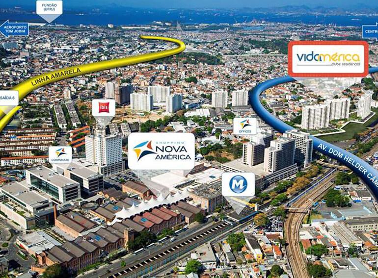 Vidamerica Clube Residencial Del Castilho