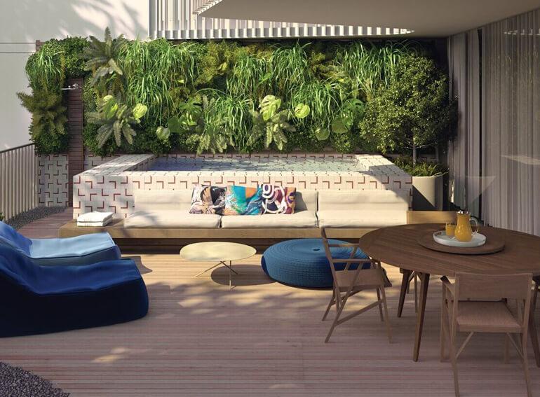 Terraço Apartamento Garden