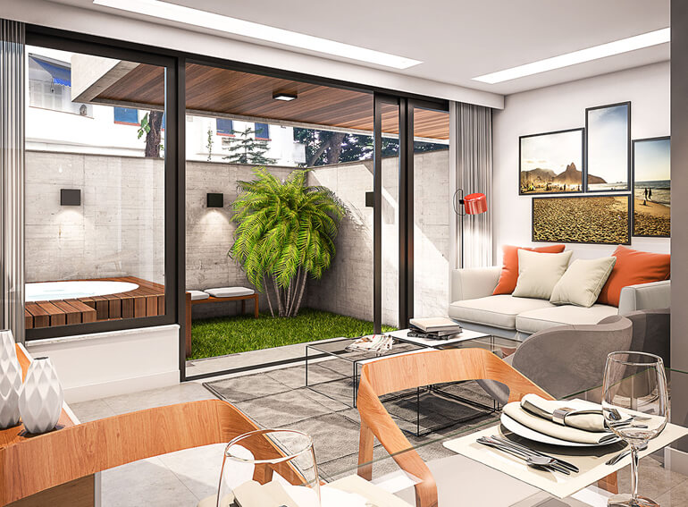 Apartamento Garden Vinicius Bait