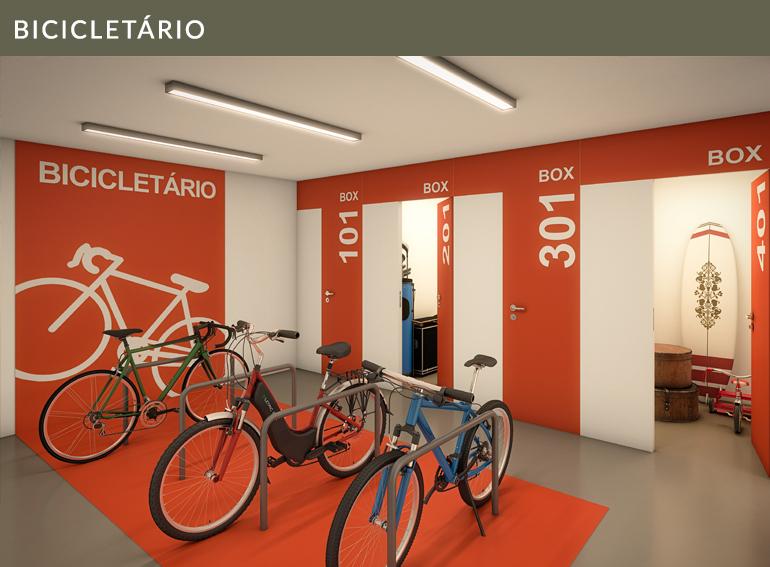 Bicicletário Quintas 292