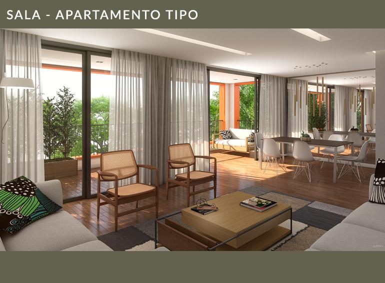 Sala Apartamento Tipo Quintas 292