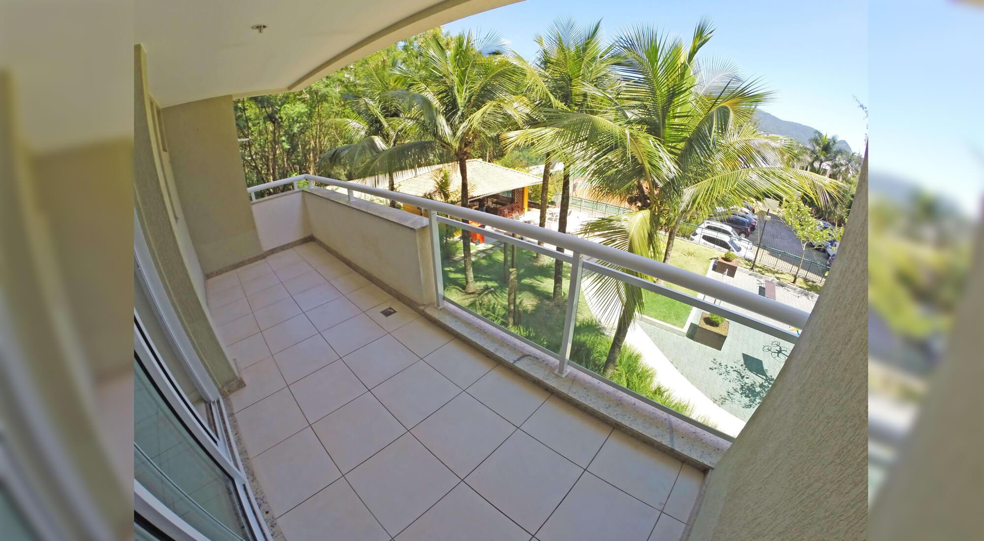 Varanda Apartamento Vitality Barra