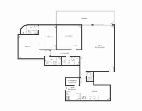 Planta Baixa - 143 m²