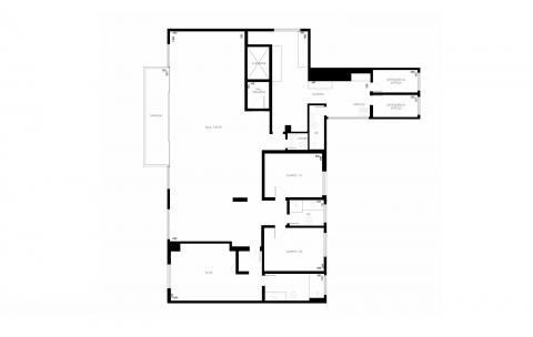 Planta Baixa - 4 Quartos - 192 m²