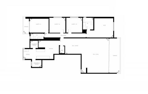 Planta Baixa - 163 m² - 4 quartos