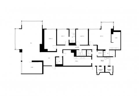 Planta Baixa - 261m² - 4 quartos