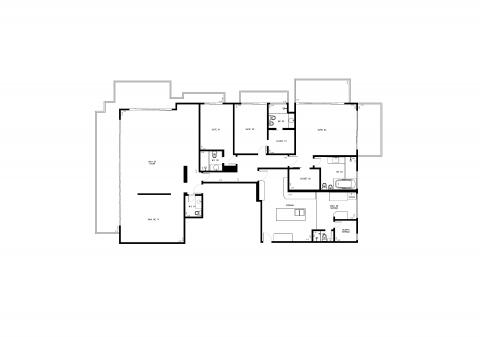 Planta Baixa - 3 quartos - 301m²