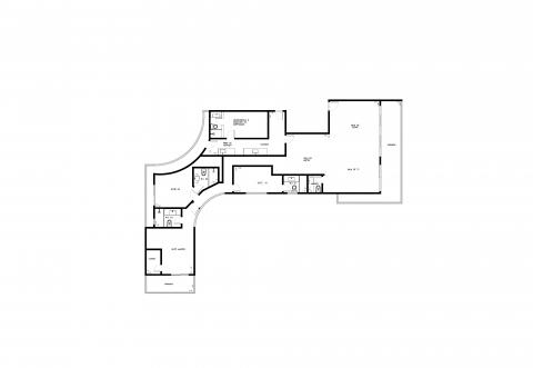 Planta Baixa - 3 Quartos - 210m²