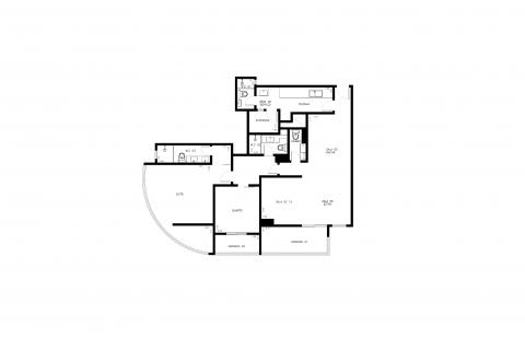 Planta Baixa - 3 Quartos - 125m²
